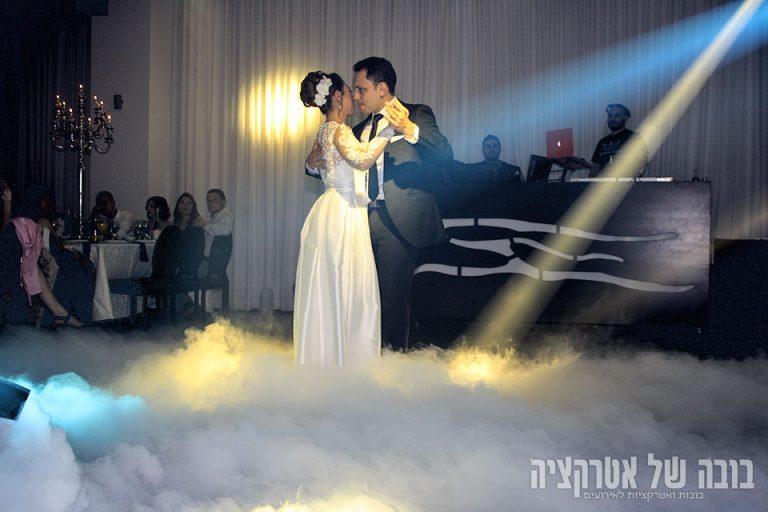 עשן כבד לריקוד סלואו