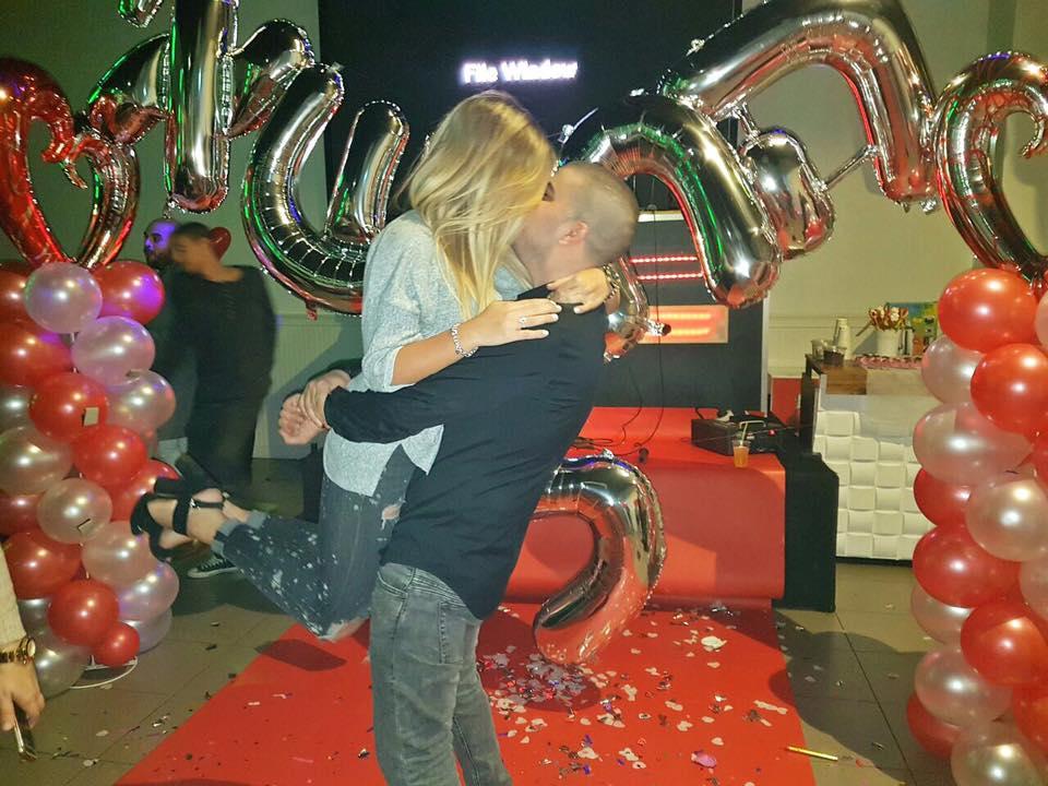 הפקת הצעת נישאין בלונים