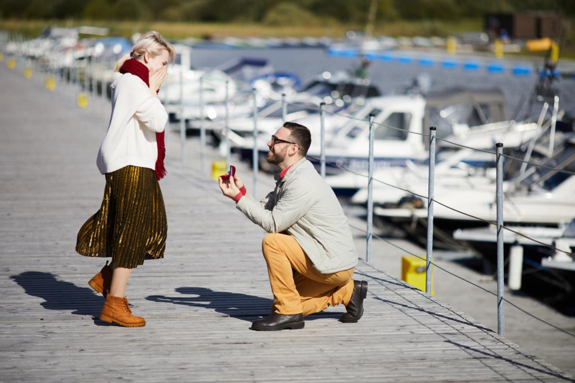 כריעת ברך בהצעת נישואין